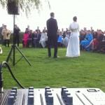 Sonorisation cérémonie extérieure